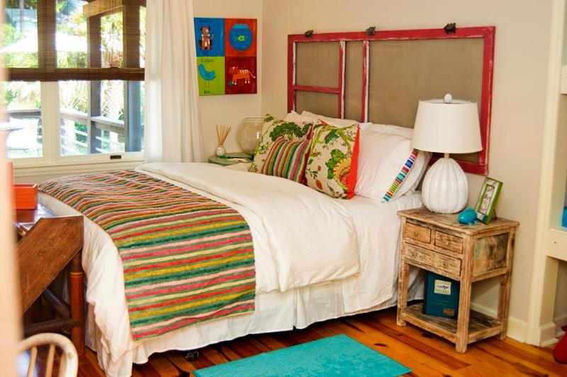 Bedroom 2 - 201 E Cooper Ave. Apt B - Folly Beach - rentals