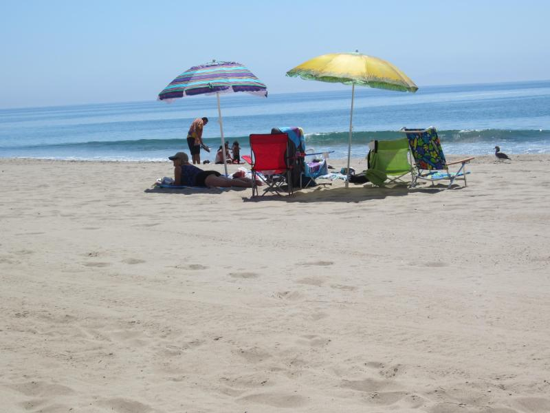 A lazy beach day - Carpinteria, CA. Beachfront 2 BR Condo - Carpinteria - rentals