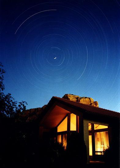 S startrails-house-large - Capture Sedona's good feelings RR views HTub, WiFi - Sedona - rentals
