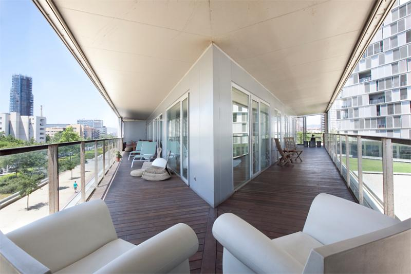 New Beach Apartment with Terrace, Pool, Gym - Image 1 - Barcelona - rentals