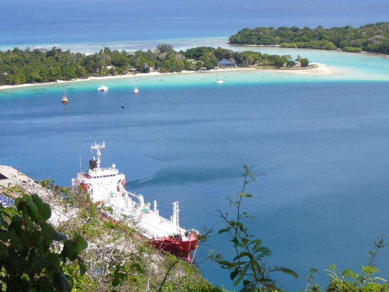Subdivision jutting out into the harbour. - SEA BREEZE GUEST HOUSE - Port Vila - rentals
