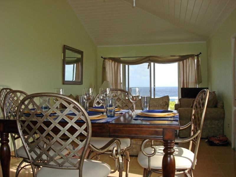 Kitchen view - Rainbow Bay Breezy Ocean Front Home Lots of Extras - Woodston - rentals