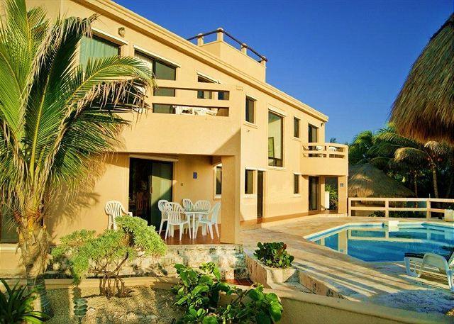 Nicte Ha Ocean Front Pool Area - Villa Nicte-Ha - World - rentals