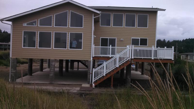 From the beach in August - Lycan House - Moclips - rentals