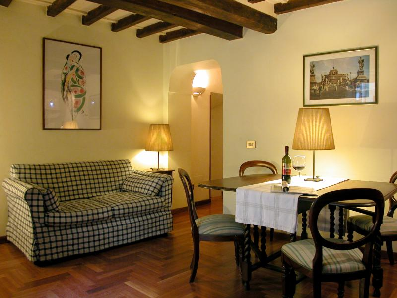 Livingroom - Campo dè Fiori - Rome - rentals