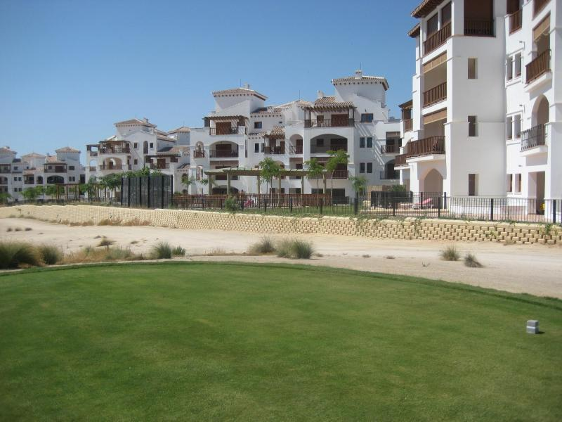 VIEW OF GOLF COURSE AND APARTMENT - El Valle Golf Resort - Murcia - rentals
