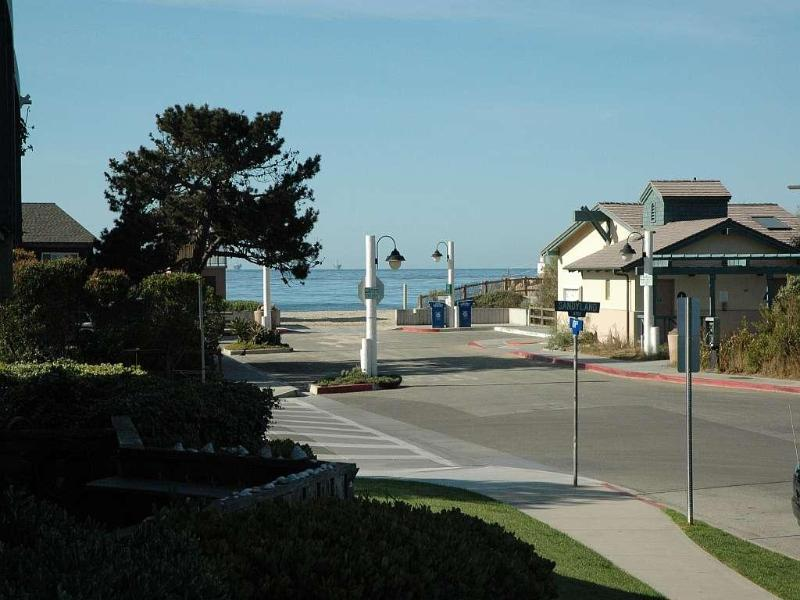 condo oceanViewFromPatio - Beautifully decorated condo steps to the beach - Carpinteria - rentals