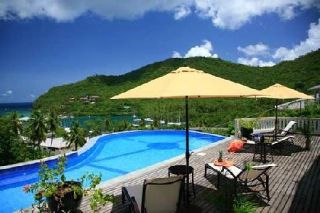 Villa Ashiana - Beautiful villa offers great views, infinity pool & open floor plan - Image 1 - Marigot Bay - rentals
