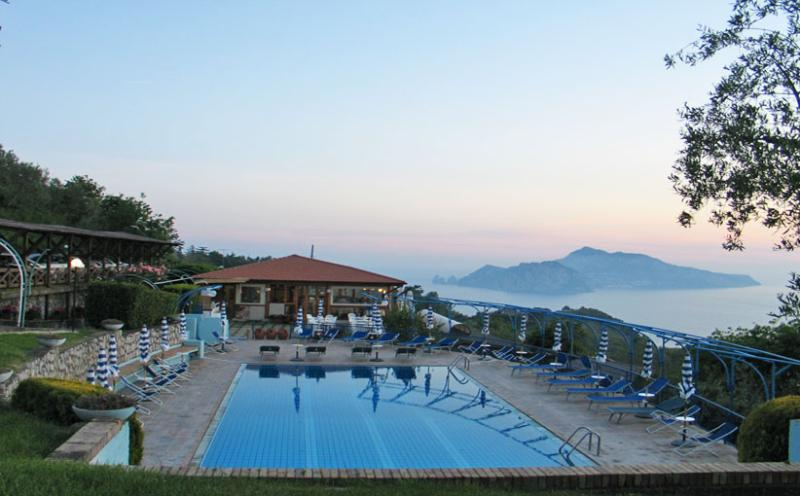 Gisella shared pool area - GISELLA - Termini - Massa Lubrense - Sorrento area - Massa Lubrense - rentals