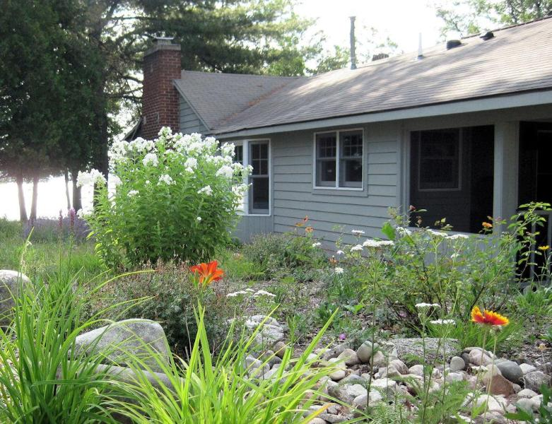 Outside View looking east at Fife Lake - Cozy Cottage, Traverse City, Michigan, USA - Traverse City - rentals