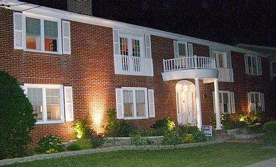 The front of the house as shown at night - Perfect for Family - A Truly One of a Kind Home! - Stone Harbor - rentals