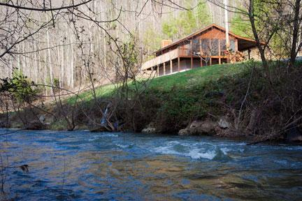 Spring Creek Cabin - Creek View Cabin, A Cozy Peaceful Mountain Retreat - Hot Springs - rentals