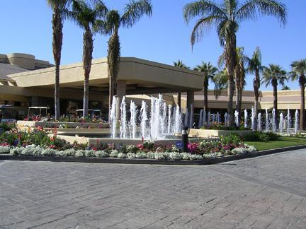 Club House fountain - Palm Desert Hide-a-Way - Palm Desert - rentals