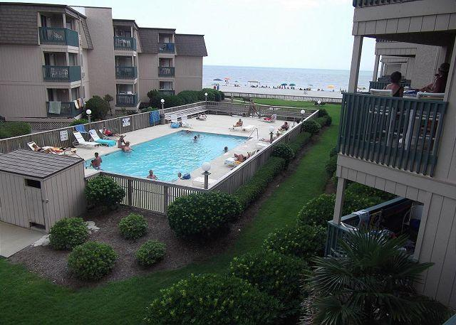 Pool - Peaceful Ocean View! - 2 Bed/2 Bath-A Place at the Beach III Unit#B2B - Myrtle Beach - rentals