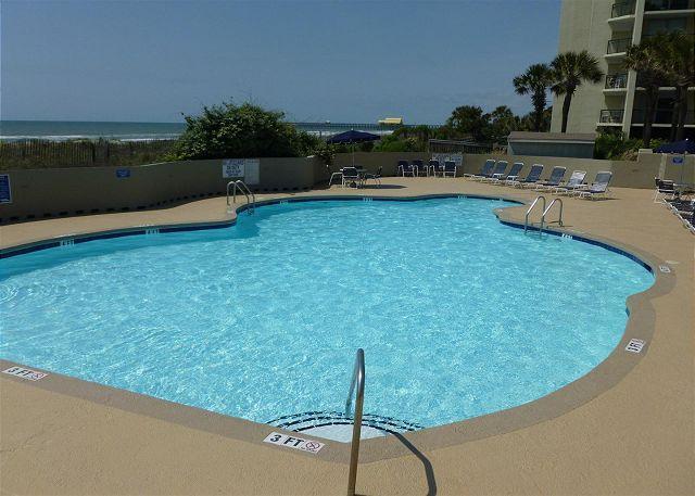 Ocean View!  North Hampton 1207, Kingston Myrtle Beach, SC - Image 1 - Myrtle Beach - rentals