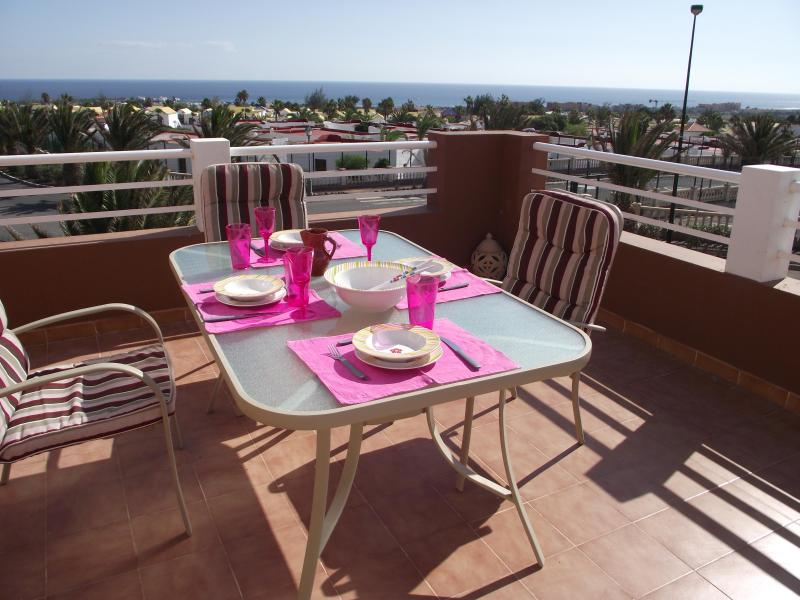 Fantastic sea views from the terrace - Fabulous Sea Views at Marina Golf Villa and Spa. - Caleta de Fuste - rentals