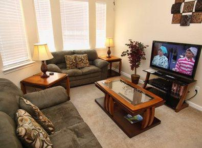 Includes cable on the grand Flat Screen TV - Luxury Poolview Penthouse - Davenport - rentals