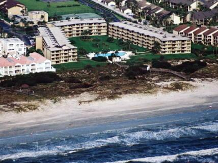 Colony Reef Aerial View - Beachfront Condo-Awesome Ocean View & Private Wifi - Saint Augustine Beach - rentals
