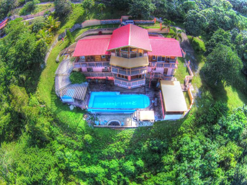 Aerial Photo December 2013 - Large Villa with Sunset Views and Free Day Sail - Road Town - rentals
