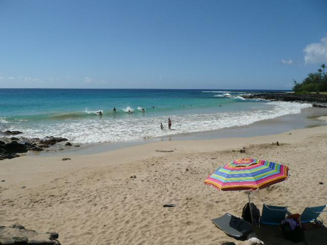 Among the handful of homes by Poipu and Brennecke's Beaches - Ocean view 3 bedroom home at Poipu Beach with A/C - Poipu - rentals