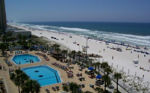 Pool - $395 weekly fall special. On the beach ! - Panama City Beach - rentals
