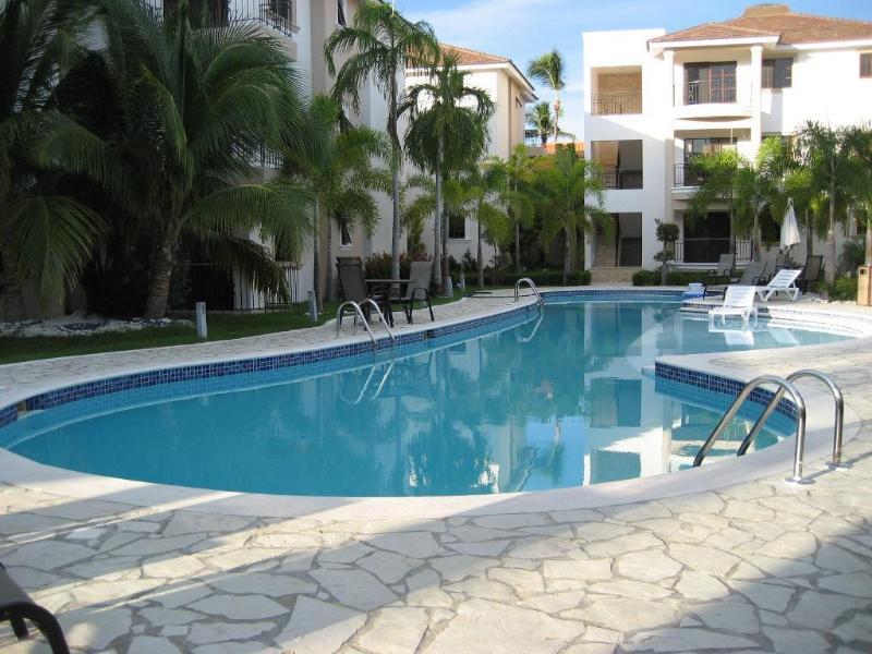 Pool area - Rosa Hermosa A-102 - Punta Cana - rentals