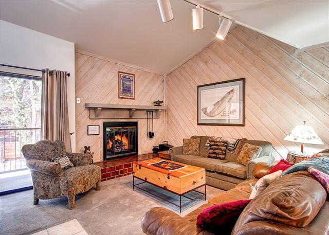 Sundowner II Living Room Breckenridge Lodging & Condo Rentals - Sundowner II 223 Ski-in Condo Downtown Breckenridge Lodging - Breckenridge - rentals