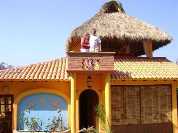 Romeo & Juliet balcony - Casa Las Conchas:Beautiful & Romantic 2 bedrm home - Sayulita - rentals