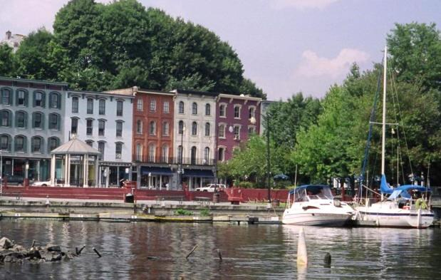View of the waterfront - Seasonal or Vacation Apartment,  Kingston, NY - Kingston - rentals
