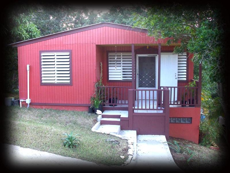 Front of Casa de Caribe - Best Deal on VQS-House+Car for 2ppl @ $135 per day - Isla de Vieques - rentals
