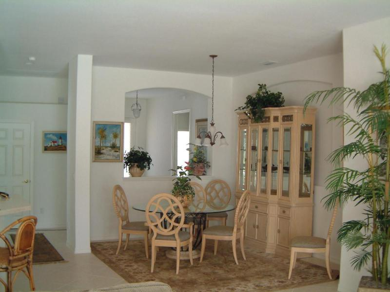 diningroom4 - Golf Course Home/pool/on 7th hole - Naples - rentals