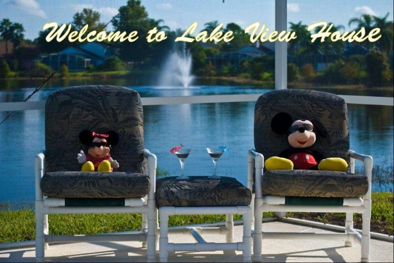 Two Of Our Regular Guests welcome you to Llake View House - Stunning Lake View House 2mls to Disney,games room - Kissimmee - rentals