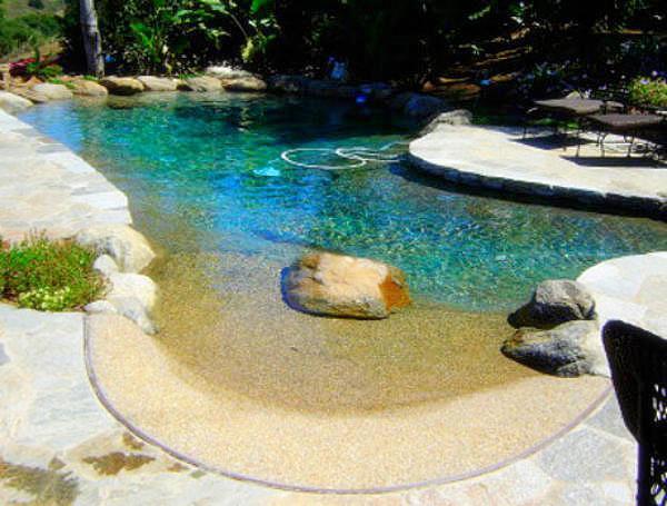 Natural & Heated Swimming Pool - Moulin de Marras - Eugenie Les Bains - rentals