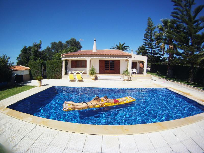 Swimming pool - VILLA  with Large Gardens, Heated Pool and Jacuzzi - Lagos - rentals