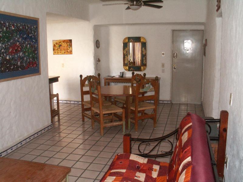 Dining Area & Entrance - Cabo Condo 50 downtown at the Marina! - Cabo San Lucas - rentals