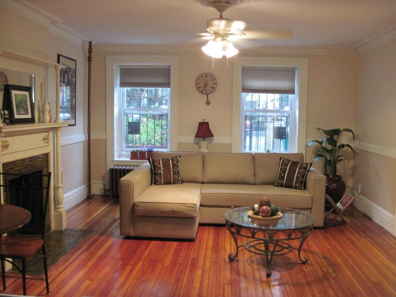 Living Room - Lefferts Garden Suite - Brooklyn - rentals