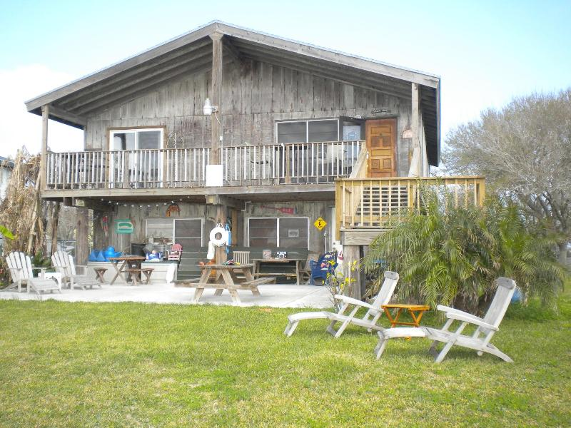 Back of home - R TROPICAL PARADISE - Rockport, TX - Rockport - rentals