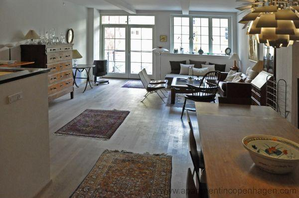 Nyhavn - Stunning Apartment Top Location - 4 - Image 1 - Copenhagen - rentals