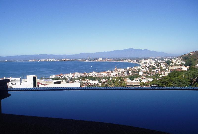 View from your private heated infinity dipping pool on terrace. - Puerto Vallarta at it's Best! - Puerto Vallarta - rentals
