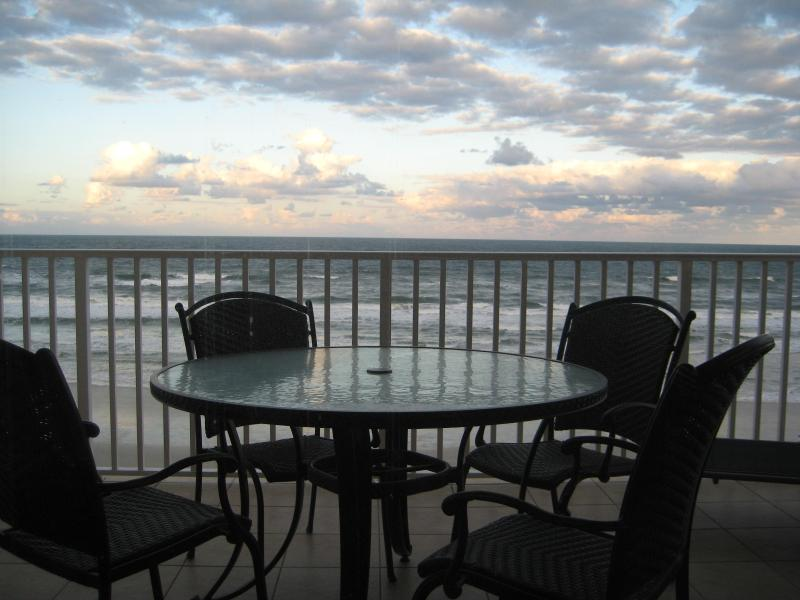 Oceanfront Balcony - New Luxurious 3/3 Direct Oceanfront Condo - Daytona Beach - rentals