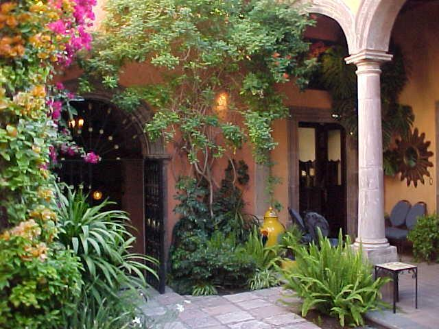 "Main Courtyard - ""There's Nothing Like the Real Thing . . . "" - San Miguel de Allende - rentals"