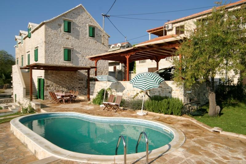 Exterior - 16 - Traditional Dalmatian Villa with Private Pool - Selce - rentals