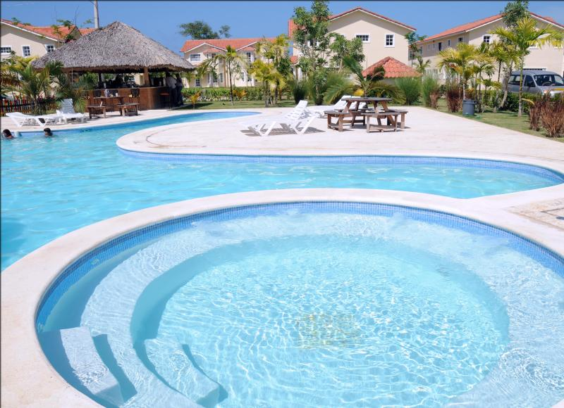 Our Club House & Pool - Lovely Condo with EXCLUSIVE Access to the Beach !! - Punta Cana - rentals