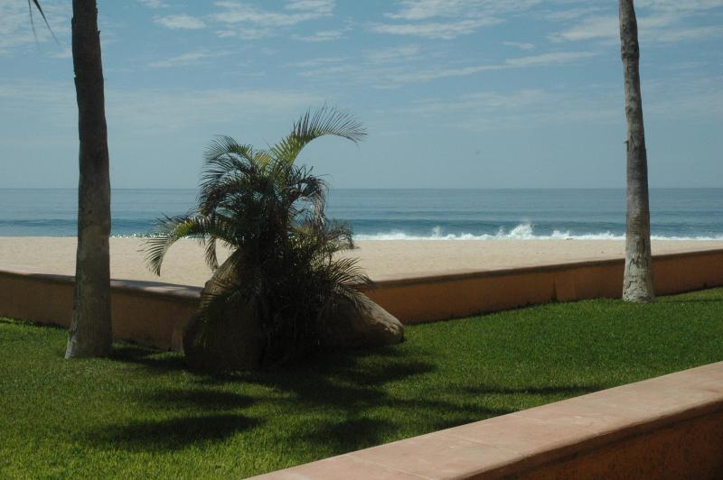 Panoramic view from large patio - Location! Location! Location!  Beach/Oceanfront!! - San Jose Del Cabo - rentals