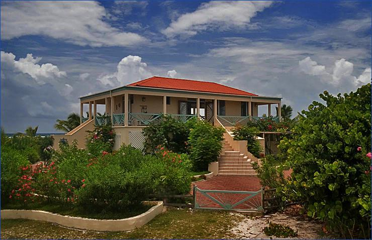 LB front modified - Lavenda Breeze -  An Oceanfront Oasis on Anegada - Anegada - rentals