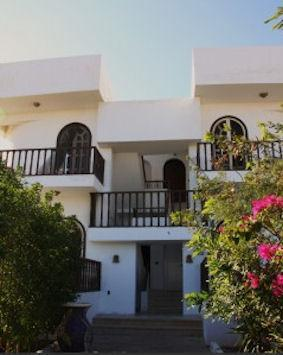 Front apt from gate - Seaview Appartment Blue Beach Dahab 40mtr from sea - Dahab - rentals