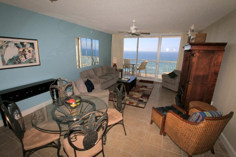 Great View of the Gulf from your Living Area - Majestic Beach Resort  T2 Unit 1203 - Panama City Beach - rentals