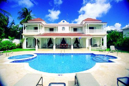 On the Beach  Elegant Fosters House with Pool, Jacuzzi, Gym, Staff - Image 1 - Reeds Bay - rentals