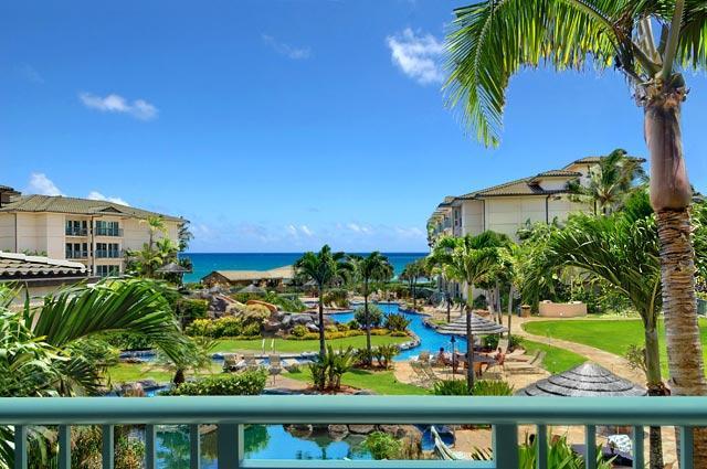 View from Living Room - Waipouli Beach Resort D206 - Kapaa - rentals