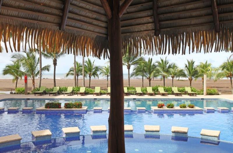 Pool at Bahia Encantada - Tropical 3 bedroom condominium at Bahia Encantada - Jaco - rentals